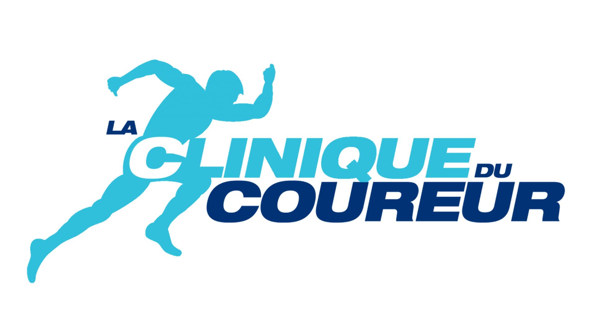 Logo clinique du coureur